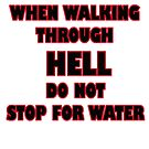 HELL AND WATER by Paul Quixote Alleyne