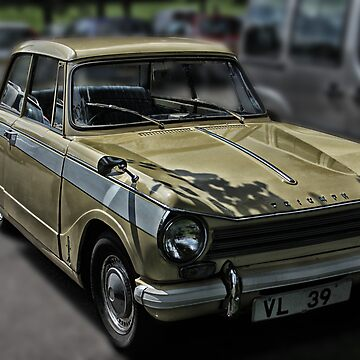 ClassicTriumph Herald Car by dangerpowers123