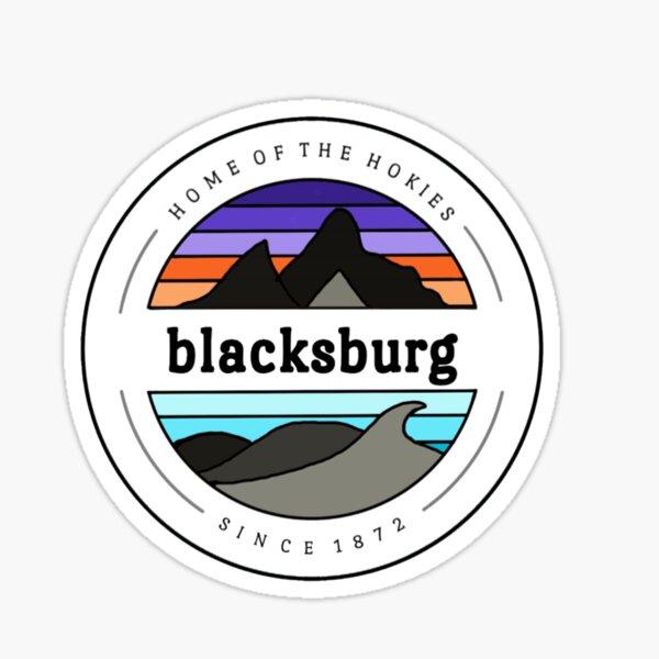 Blacksburg - Home of the Hokies Sticker