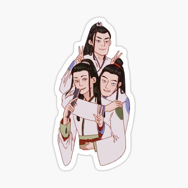 The Troublesome Trio Sticker