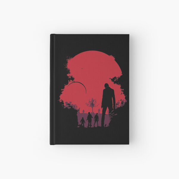 Sunset Dead End Red Apocalypse DTG78 Hardcover Journal