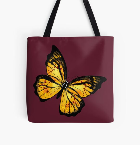 """""""Butterfly Of Hope"""" All Over Print Tote Bag"""