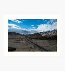 Highest desert Art Print