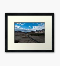 Highest desert Framed Print