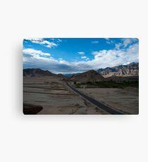 Highest desert Canvas Print