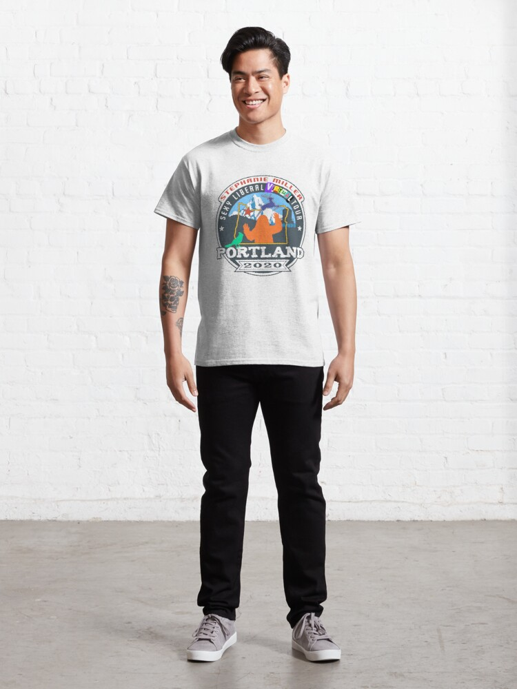 Alternate view of Stephanie Miller's Sexy Liberal Virtual Tour - Portland Classic T-Shirt
