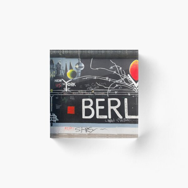 Berlin Wall Acrylic Block
