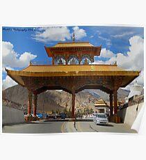 Leh Gate Poster