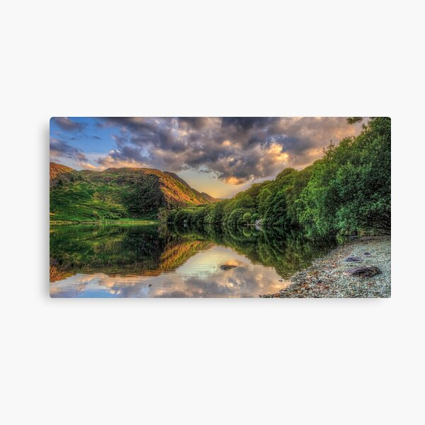 Llyn Dinas Sunset Canvas Print
