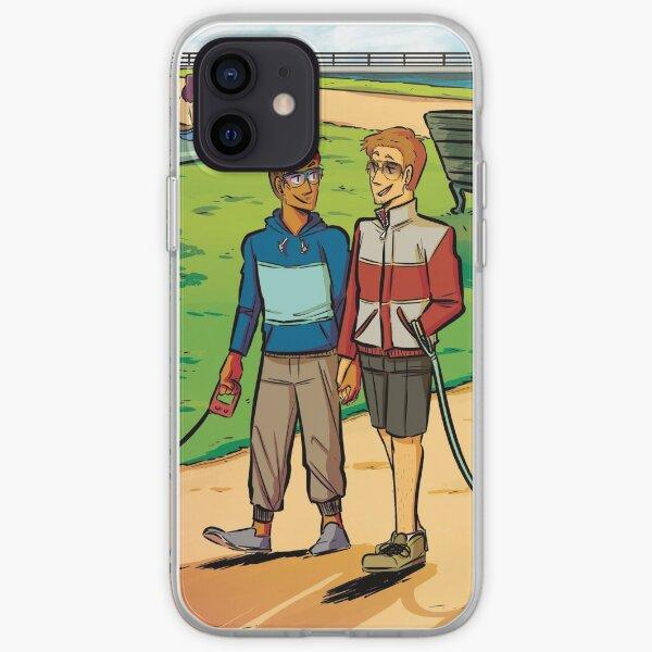 Hazy London: Dog Walk iPhone Soft Case