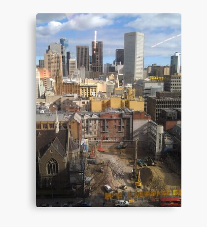 120 Colins Street,Sydney Canvas Print