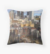120 Colins Street,Sydney Throw Pillow