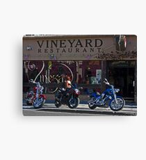 Vineyard Restaurant Canvas Print