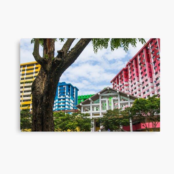 Colourful Singapore Canvas Print