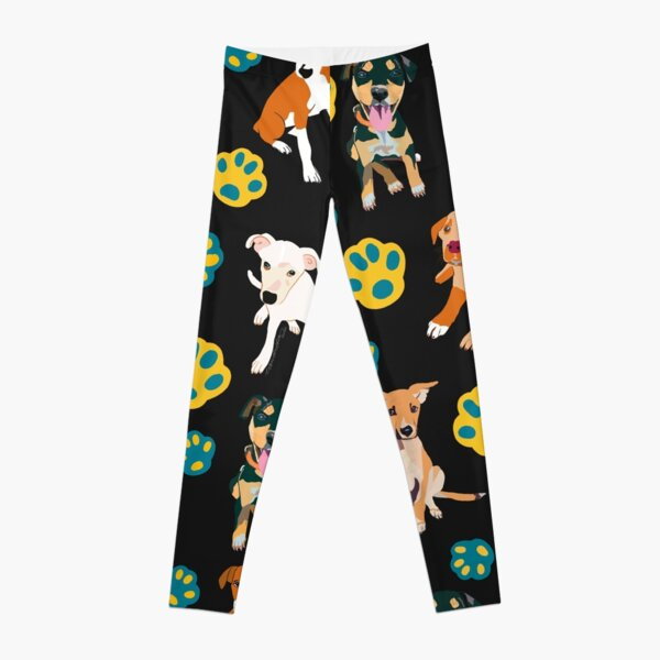 Potcake Mania Leggings