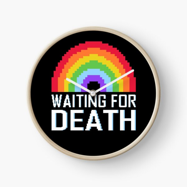 Esperando la muerte Rainbow Reloj