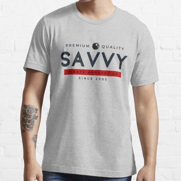 Savvy Pirate Apparel Company Essential T-Shirt