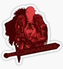 The Commander Sticker