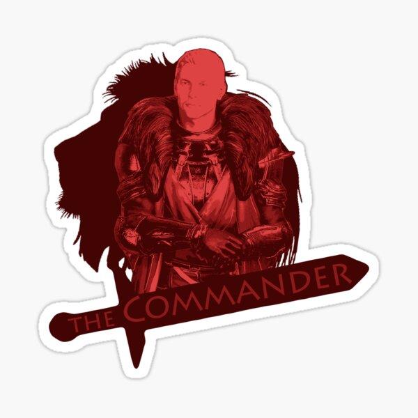 The Commander Sticker
