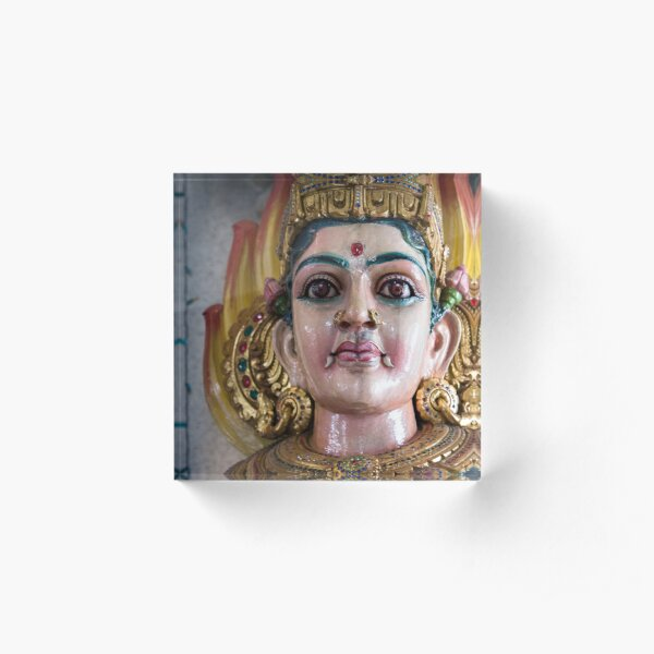 Singapore - Hindu Temple Acrylic Block