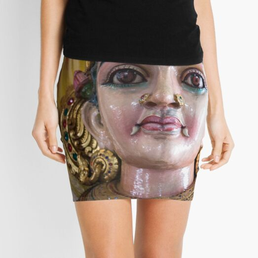 Singapore - Hindu Temple Mini Skirt