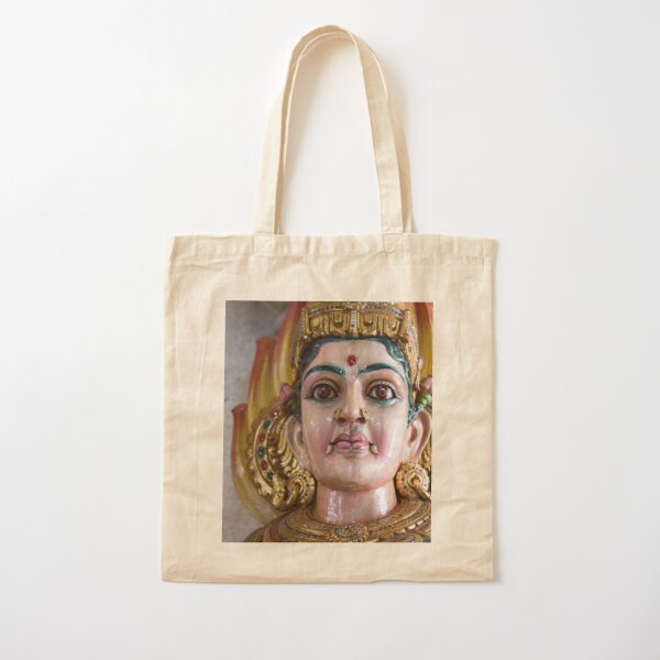 Singapore - Hindu Temple Cotton Tote Bag