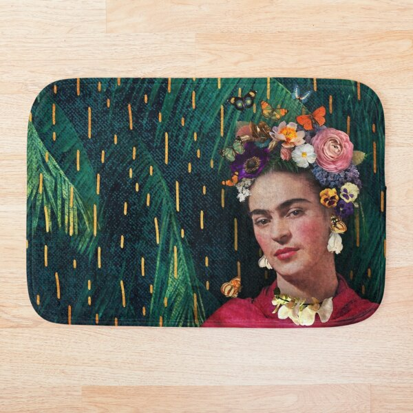 Frida Kahlo :: World Women's Day Bath Mat
