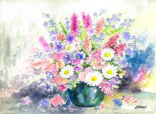 FLOWER STILL LIFE by RainbowArt