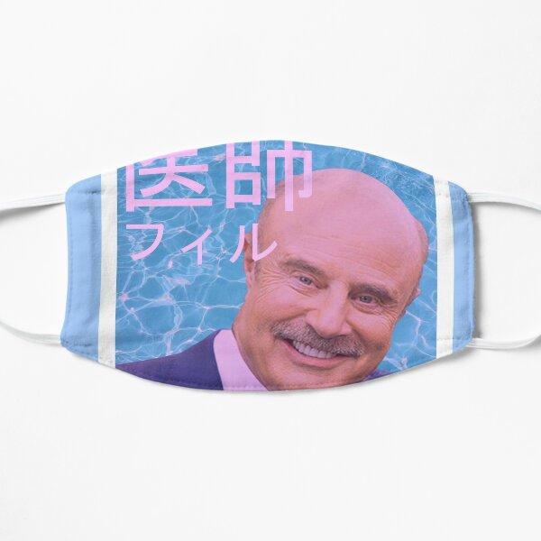 Dr. Vaporwave Flat Mask