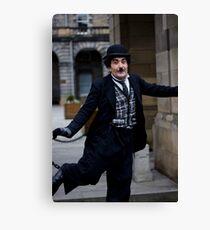 Mr Chaplin Canvas Print