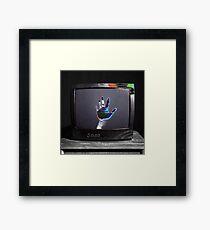 tv binge Framed Print