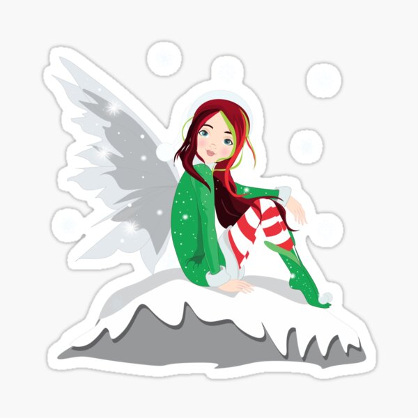Eve The Christmas Fairy™ Sticker