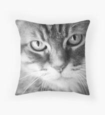 Feline Throw Pillow