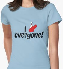 I ship: EVERYONE! Womens Fitted T-Shirt