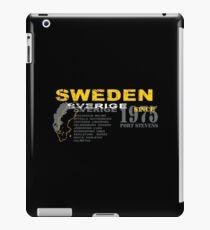 Sweden- Sverige iPad Case/Skin