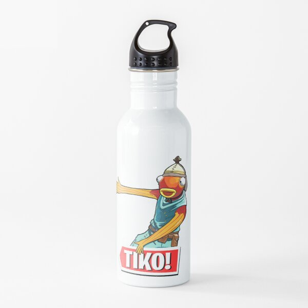 Tiko Fish Man Water Bottle
