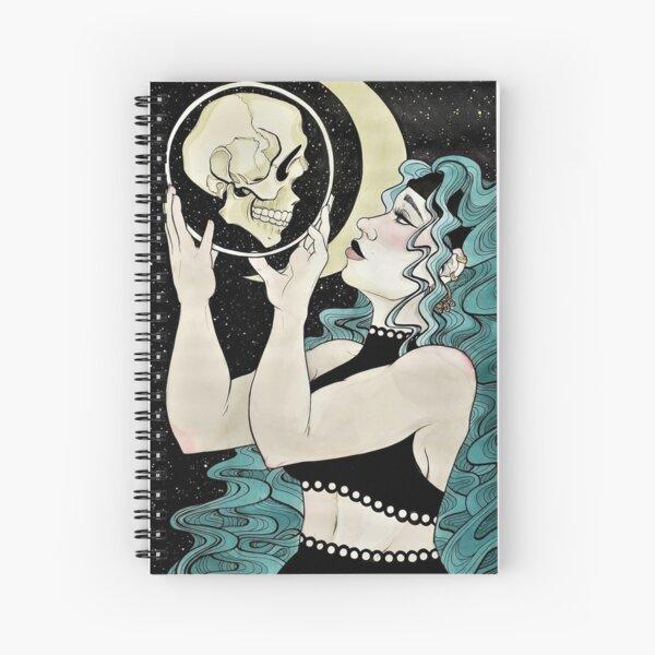 Midnight Reading Spiral Notebook