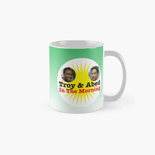 Troy and Abed In the Morning Mug Classic Mug