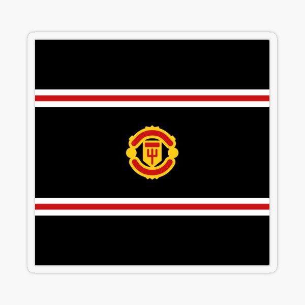 flag Manchester United Transparent Sticker