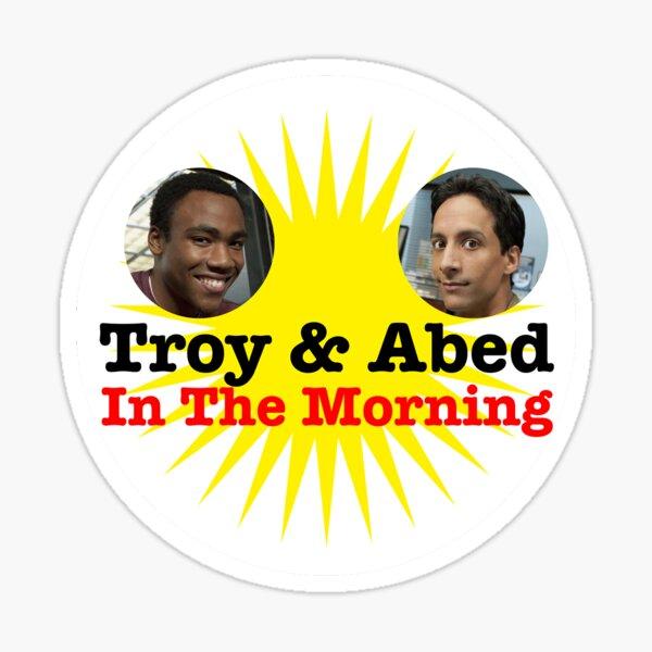 Troy & Abed Sticker Sticker