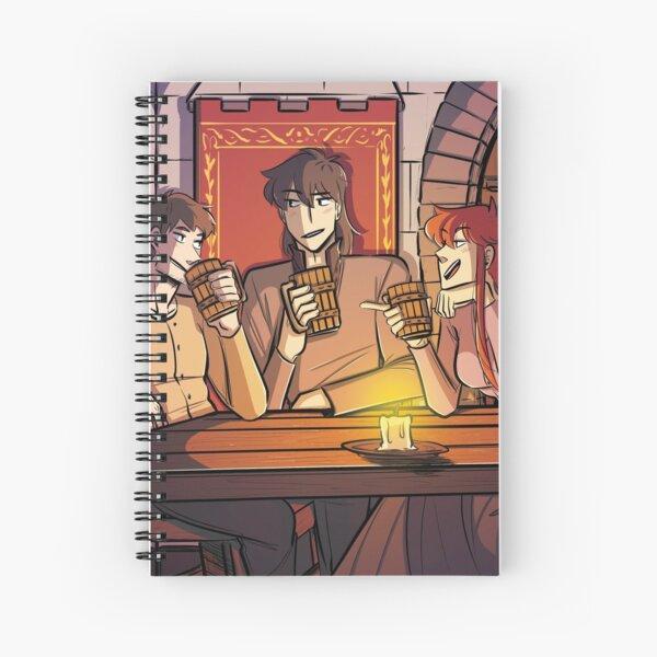 Nigh Heaven & Hell: Drinks Spiral Notebook