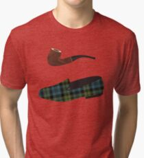 Pipe and Slippers Tri-blend T-Shirt