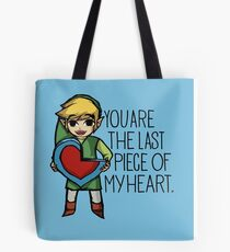 Legend Of Zelda - The Last Piece Tote Bag