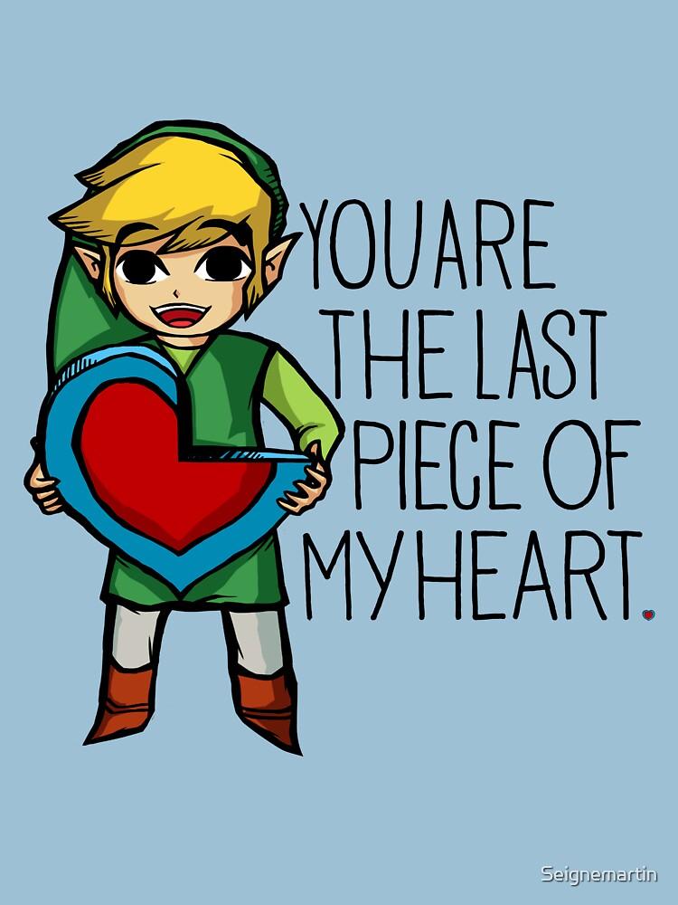 TShirtGifter presents: Legend Of Zelda - The Last Piece | Unisex T-Shirt