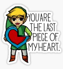 Legend Of Zelda - The Last Piece Sticker