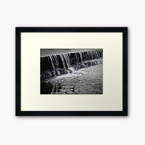 Wasserfall Gerahmter Kunstdruck