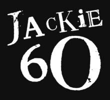 Jackie 60 Classic White Logo on Black