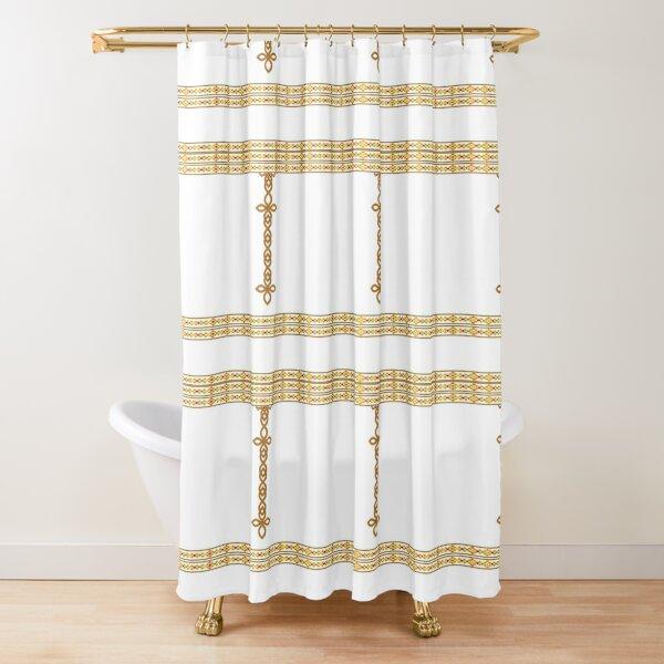 Tibeb 3 Shower Curtain