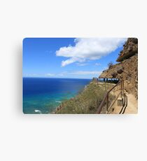 "Diamond Head ""lookout bunkers"" Canvas Print"