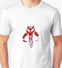 Mandalorian symbol in blood Unisex T-Shirt